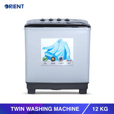 Orient Twin 12 Modern White Washing Machine